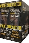Sweet Woods Leaf Rum River Double Pack 30-2's 60 Cigars